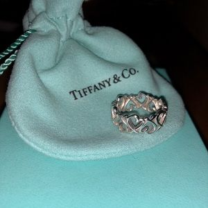 Tiffany & Co Paloma Picasso Love Heart Band Ring
